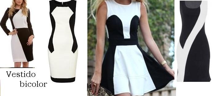 Vestido Bicolor Modelos Onde Comprar Online Como Combinar