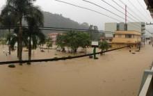 Fortes chuvas em Santa Catarina Notícia, Situação Estado, Desabrigados