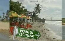 Praias Tranquilas poucos Exploradas do Ceará, Brasil