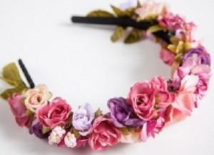Tiaras de Flores - Lindos modelos 01b1beef3f1