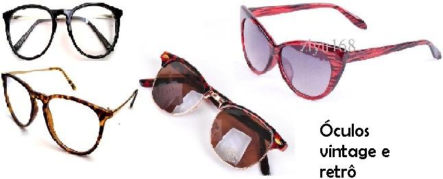 76ff59d3f Modelos de Óculos Vintage e Retrô - Dicas para cada tipo de rosto