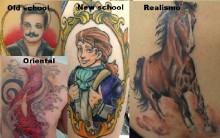 Estilos de Tatuagem – Tipo de Tatuagem, Significado, Fotos