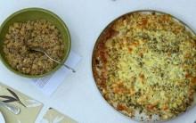 Receita Pizza de Peixe Luan Santana Mais Você 01/10/13 Ana Maria Braga