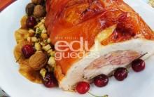 Receitas de Natal Edu Guedes Pernil Recheado, Salpicão, Bolo de Frutas
