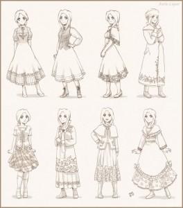 Como Desenhar Roupas De Mangá Modelos Vestidos Vídeo