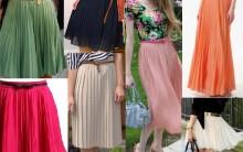 Saias Plissadas Curtas e Longas: Como Usar Lisas e Estampadas, Modelos