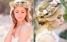 Penteados com Flores: Modelos para Casamento, Soltos e Presos e Fotos