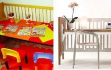 Quarto de Criança Reaproveitando Berço, Trocador, decorar economizando