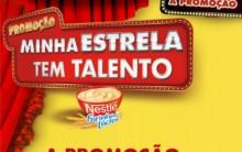 Promoção Nestlê Participar, Prêmio Inscrição Minha Estrela Tem Talento