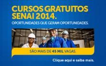 Cursos Gratuitos Senai Rio de Janeiro – Site para Inscrição, Cursos