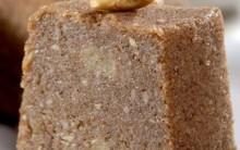 Bolo Pé de Moleque sem Açúcar – Receita de Bolo Junino Diet
