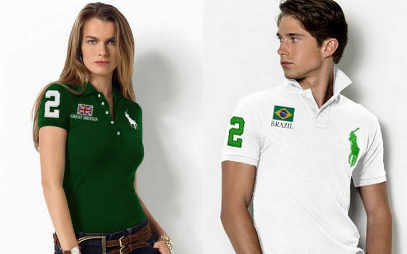 b4e1391f83c Camisas Polo de Marca  Masculinas Femininas Onde Comprar