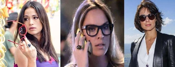 Óculos Atriz Novela Império - Moda Maria Clara, Marta, Érika d6e92cdedb