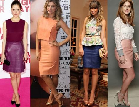 Vestidos da moda atual