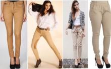 Moda Calça Bege, Como Usar, Comprar, Preços e Dicas de Looks