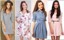 Vestidos com Manga ¾ – Como Usar, Comprar, Preços, Looks