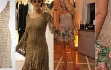 Vestido de Crochê – Moda e Tendências 2015 em Crochê