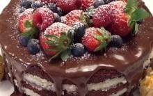 Bolo de Aniversário Diet – Massa, Recheio e Cobertura