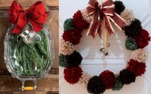 Guirlandas de Natal Diferentes – Fotos de Lindas Guirlandas