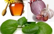 Suco Verde com Agrião Mel, Alho e Cebola para Limpar Veias