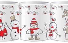 Canecas de Natal – Dicas de lembrancinhas para o Ano Novo