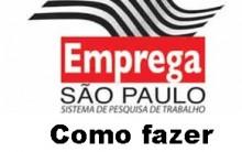 Emprega São Paulo Vagas de Emprego SP, Site para Inscrição