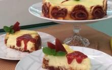 Cheesecake de Rolo e Goiabada Mais Você 24/02 Ana Maria