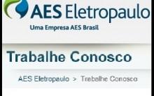 Enviar Currículo para AES Eletropaulo – Trabalhe Conosco