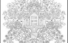 Desenho para Colorir que Relaxa – Site para Imprimir Grátis – Novos Desenhos para Adultos