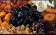 Frutas Secas – Benefícios da Ameixa, Uva Passas, Damasco