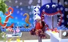 Esculturas com Balões Mais Você 13/07/2015 – Fotos e Vídeos
