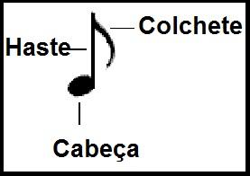 Valores Das Notas Musicais E Pausas Teoria Musical Imagem