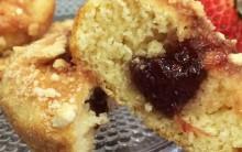 Muffin de Goiabada Mais Você 14/09/2015 – Receita da Ana Maria Braga Hoje