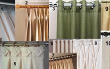 Tipos de pregas em cortinas, Como Fazer e Modelos com foto