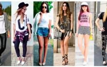 Camisetas Estilosas -Dicas da Moda casual e Looks com Fotos