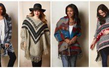 Ponche no Inverno – Looks Modernos com Ponchos, Onde Comprar