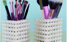 Porta Pincel Customizado – Dicas Artesanatos com Reaproveitamento