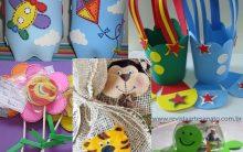 Lembrancinhas para o Dia das Crianças com Feltro e EVA Modelos Fácil de Fazer