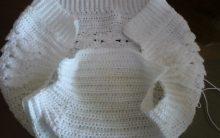 Tapa fralda de Crochê e Ponto Crespo – Como Fazer Calcinha de Bebê PAP