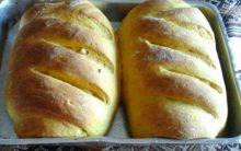 Pão Caseiro de Abóbora Japonesa, Castanhas e Uva Passas – Receita Caseira