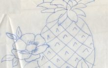 Riscos de Frutas para Pintura ou Bordado – Desenhos de Frutas para Imprimir