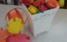 Como Fazer Flor de Papel em Casa – Decoração de Festas com Flores de Papel PAP