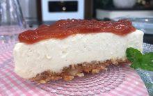 Cheesecake Romeu e Julieta do Mais Você Hoje, dia 08/03/17 – Receita Sobremesa da Ana Maria Braga