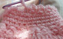 Ponto Mini Leque Acabamento de crochê para casaquinho e blusas – Como Fazer PAP com Fotos