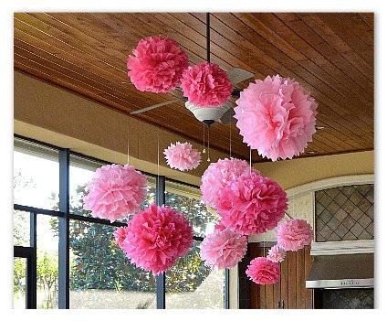 pompom-de-papel-de-seda-pap-para-decorar Veja ... 984a4a9f5f3