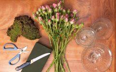 Como Fazer Arranjo de Flores para Festa de Noivado, Casamento – Passo a passo Fácil