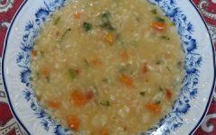 Sopa de Frango com Arroz e Legumes – Como Fazer, Ingredientes e Passo a Passo