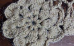 Ponto Leque de Crochê com Variação, Ponto Vazado – Receita PAP com Fotos