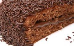 Bolo de Brigadeiro Diet e Light – Como Fazer Ingredientes Bolo de Brigadeiro Sem Açúcar